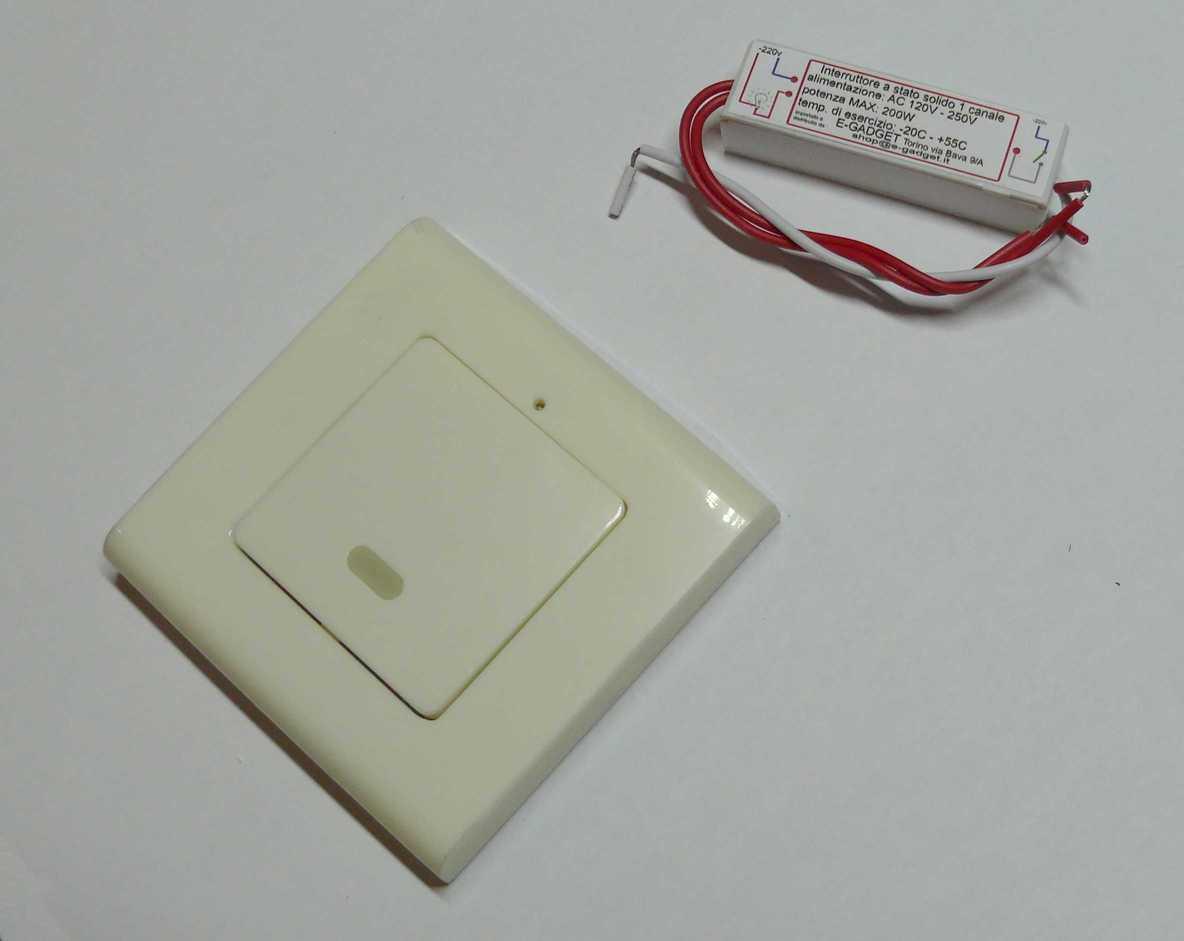 dettagli su mini interruttore a un canale telecomando wireless switch