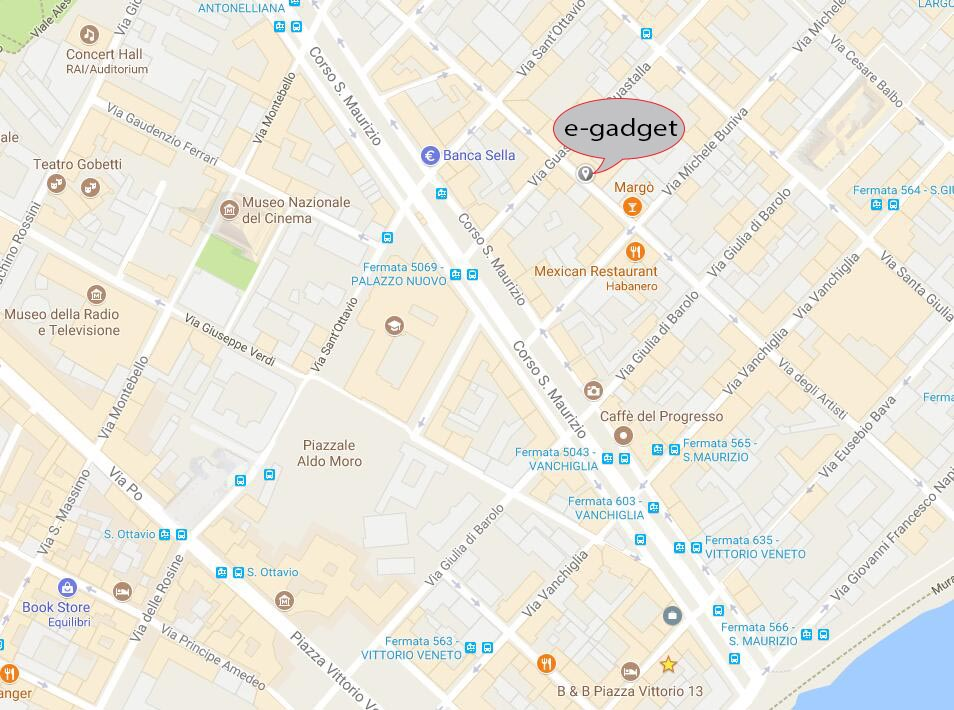 Clicca per trovarci su Google Maps